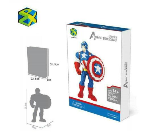 นาโนบล็อค : Captain America