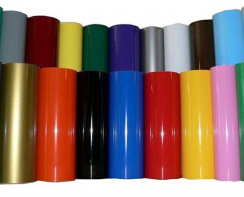 สติ๊กเกอร์ PVC หน้ากว้าง 106 cm./1 ม้วน 50 เมตร (แบ่งขายเมตร)