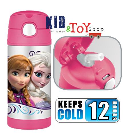 กระติกเก็บความเย็น Disney Frozen สีชมพู[p]