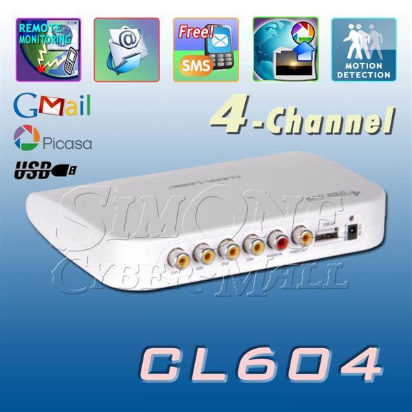 CL604 - 4 CH USB DVR