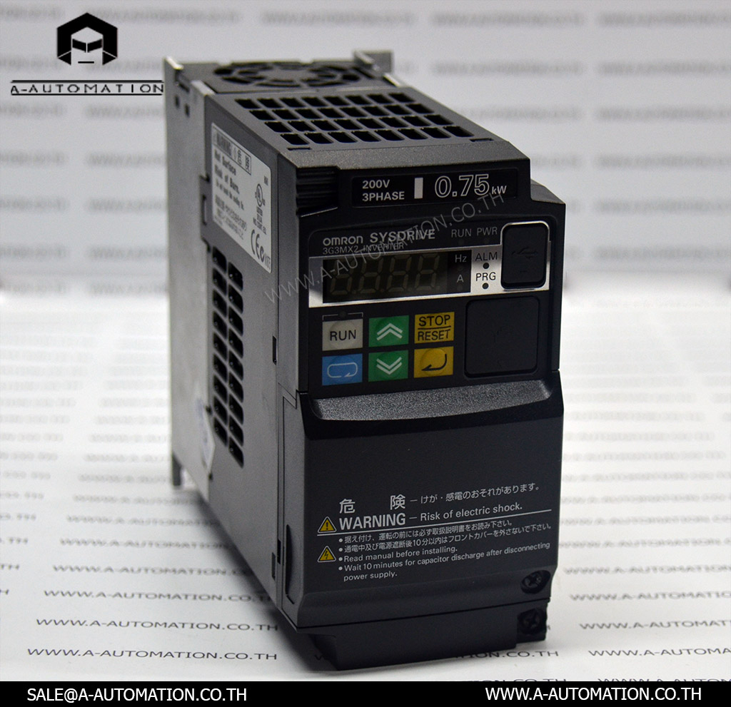 INVERTER MODEL:3GX3MX2-A2007 [OMRON]