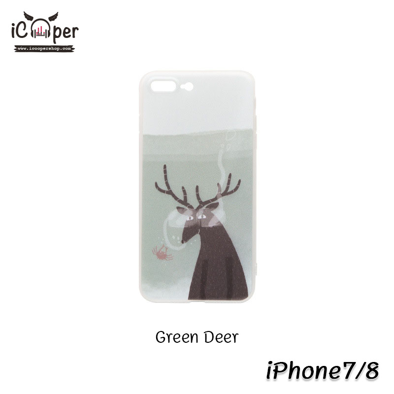 MAOXIN Island Case - Green Deer (iPhone7/8)
