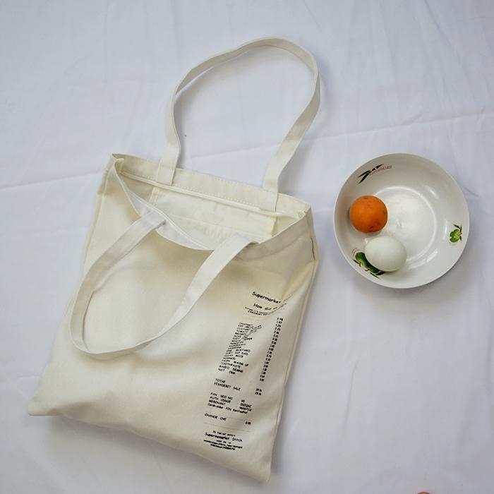 ★ พร้อมส่ง ★ กระเป๋าผ้า/ถุงผ้าพิมพ์ลาย