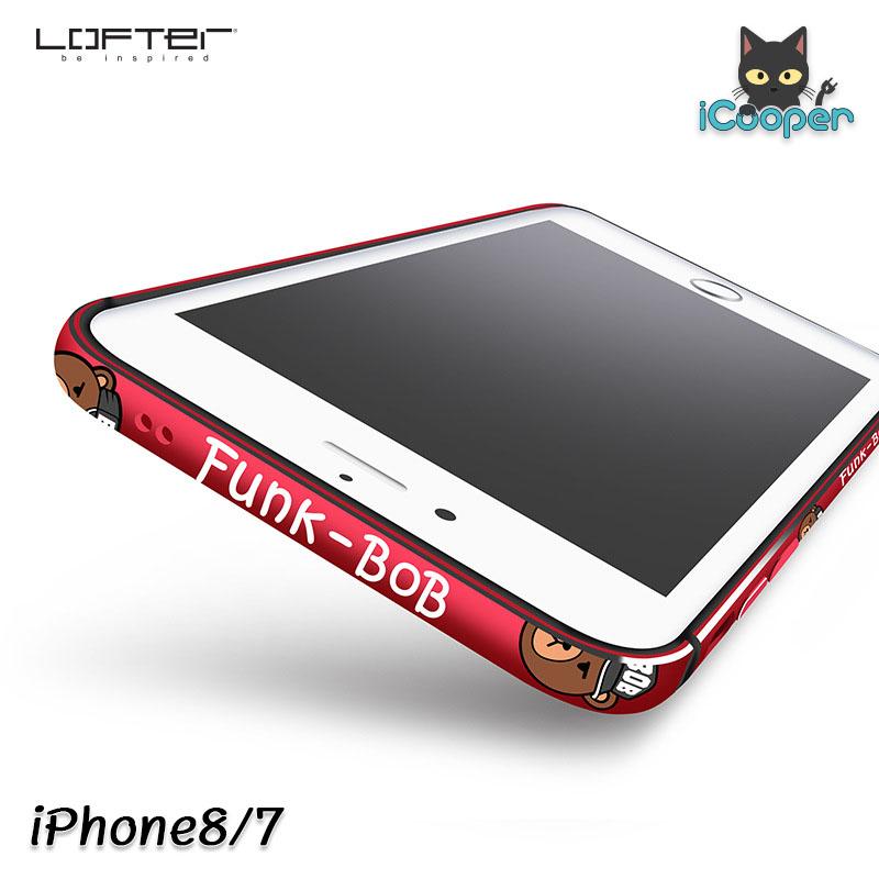 LOFTER Aluminium Bumper - Funk BOB Red (iPhone8/7)