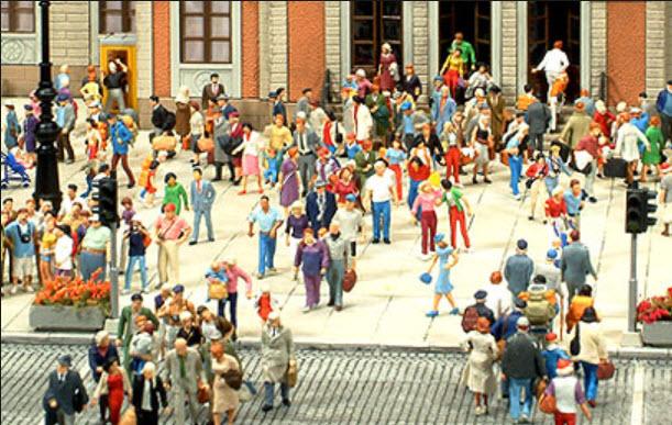 City theme (scale 1:87)