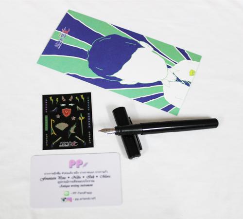 ปากกาหมึกซึม SKB I Angel & Devil F (0.5~0.7mm)