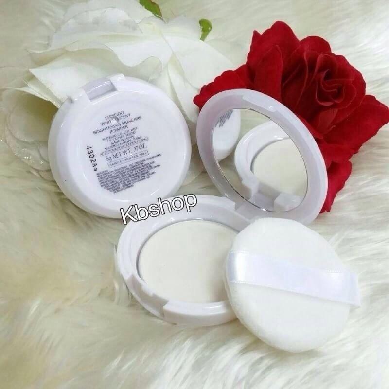 #Shiseido White Lucent Brightening Skincare Powder ขนาด 5g.