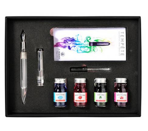 ปากกาหมึกซึม J.Herbin Box Set + 4 inks
