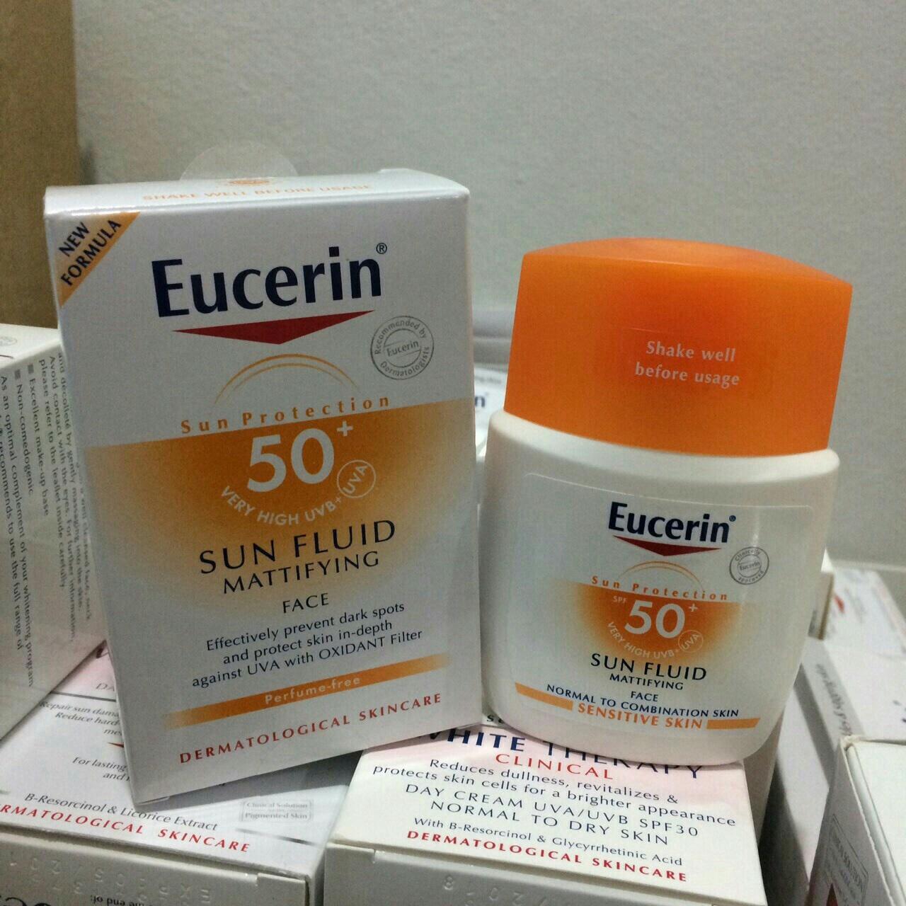 #Eucerin Sun FluidMattifying Face SPF50/PA++++ 50 ml