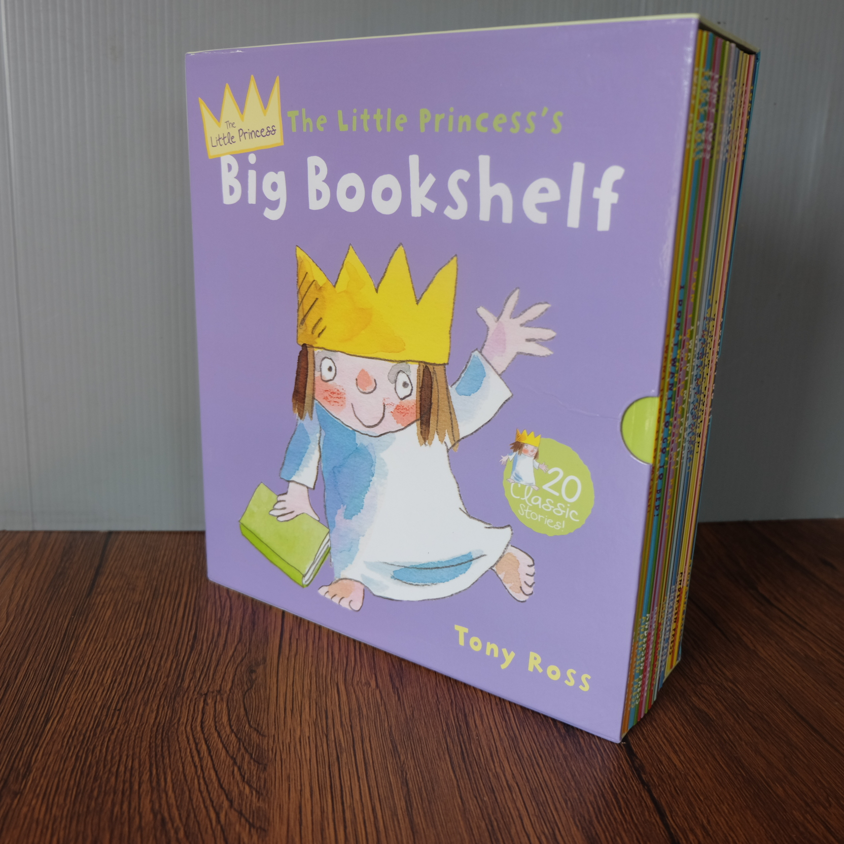 Little Princess Story Picture 20 Book Box Set Collection Tony Ross 3200รวมอีเอมเอส
