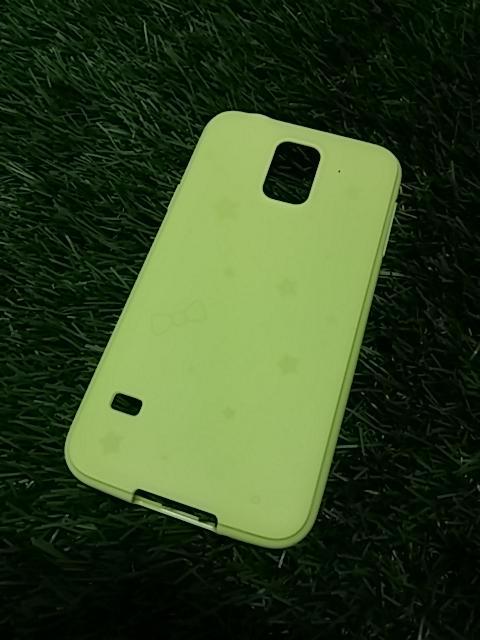 เคสสีสดใส (เคสยาง) - Galaxy S4