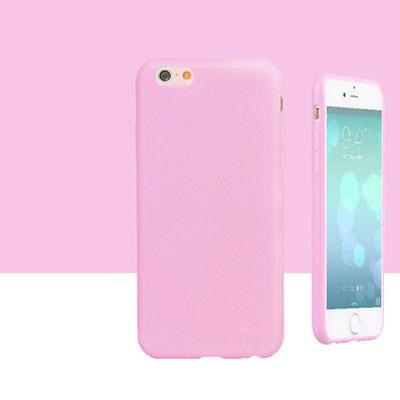 สีพาสเทล (เคสยาง) - iPhone5