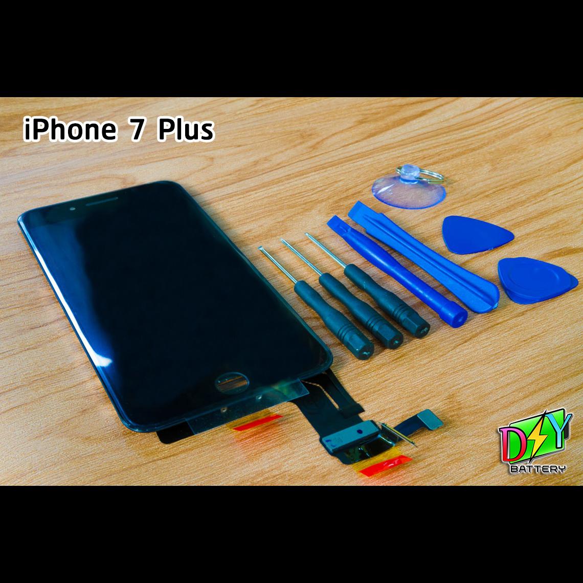 หน้าจอ iPhone 7 Plus พร้อมชุดอุปกรณ์เปลี่ยนหน้าจอ
