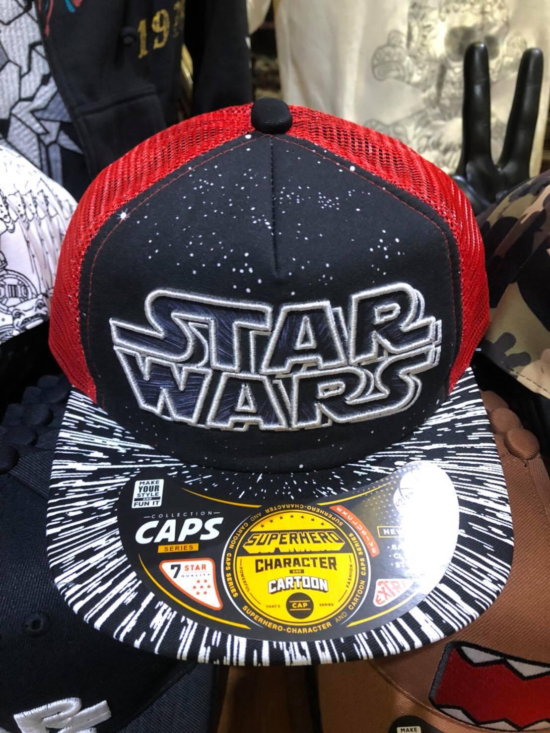 หมวก Starwars (Starwars Black)