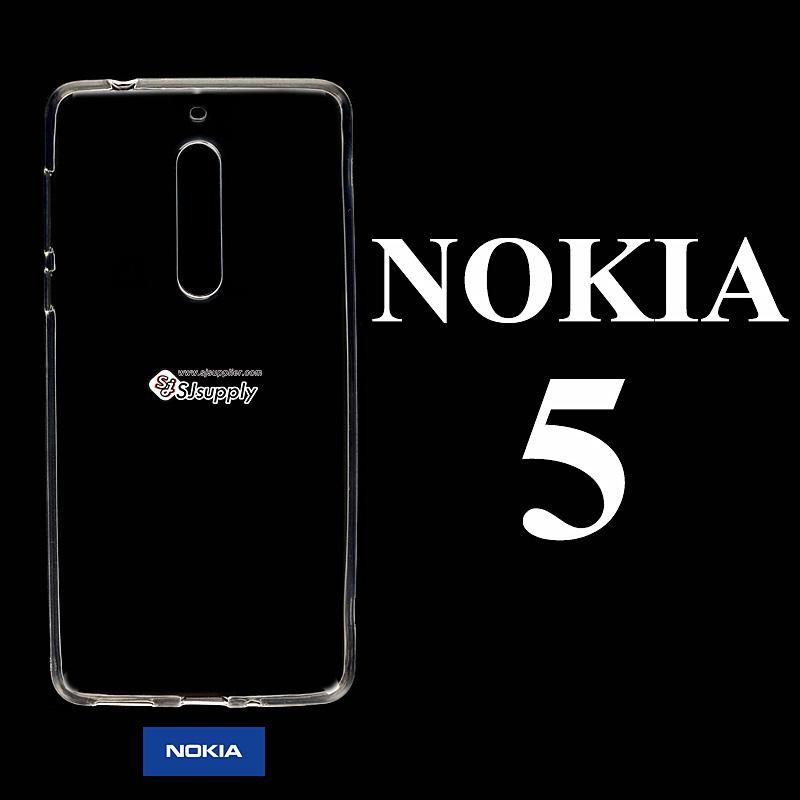 เคส NoKia 5 ซิลิโคน สีใส