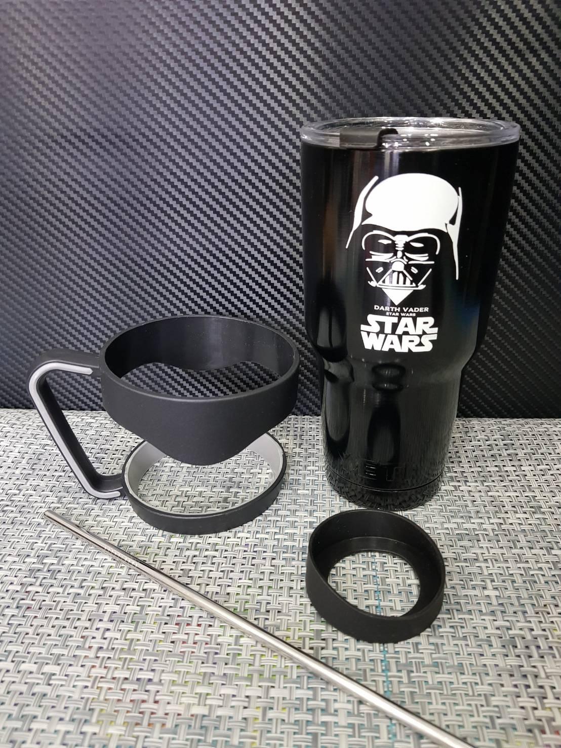ชุดแก้วเยติ 30 ออนซ์ พื้นสีดำ โลโก้ สตาร์วอร์ ดาร์กเวเดอร์