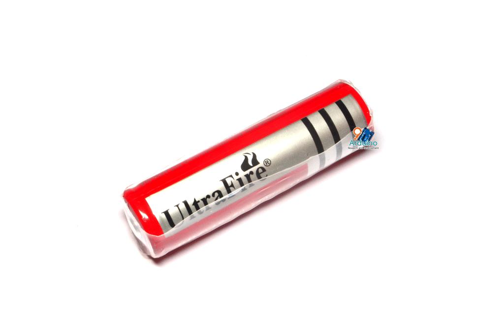 ถ่านชาร์จ Ultrafire 18650 3.7V 3000mAh (สีแดง)