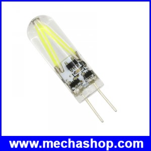 LED G4 3W COB 150lumens AC & DC 12V แสงสีขาว 5800-6500Kใช้แทนหลอดไฟฮาโลเจน หลอดไฟโคมระย้า ประหยัดไฟหลายเท่า