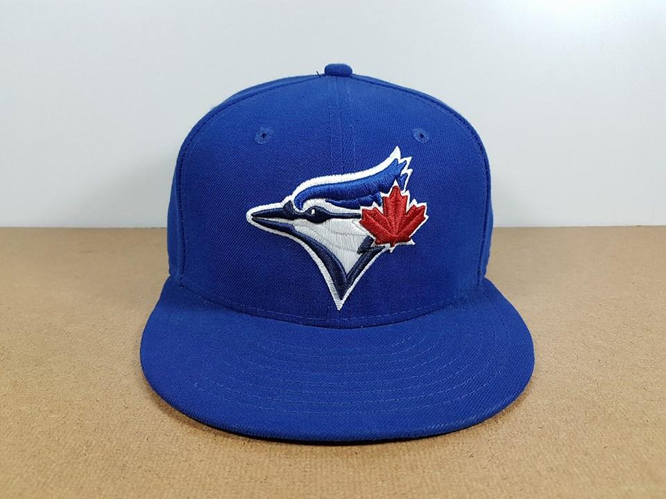 New Era MLB ทีม Toronto Blue Jays 59Fiffty 🎃ไซส์ 7 1/4 แต่วัดได้ ( 58.2cm )