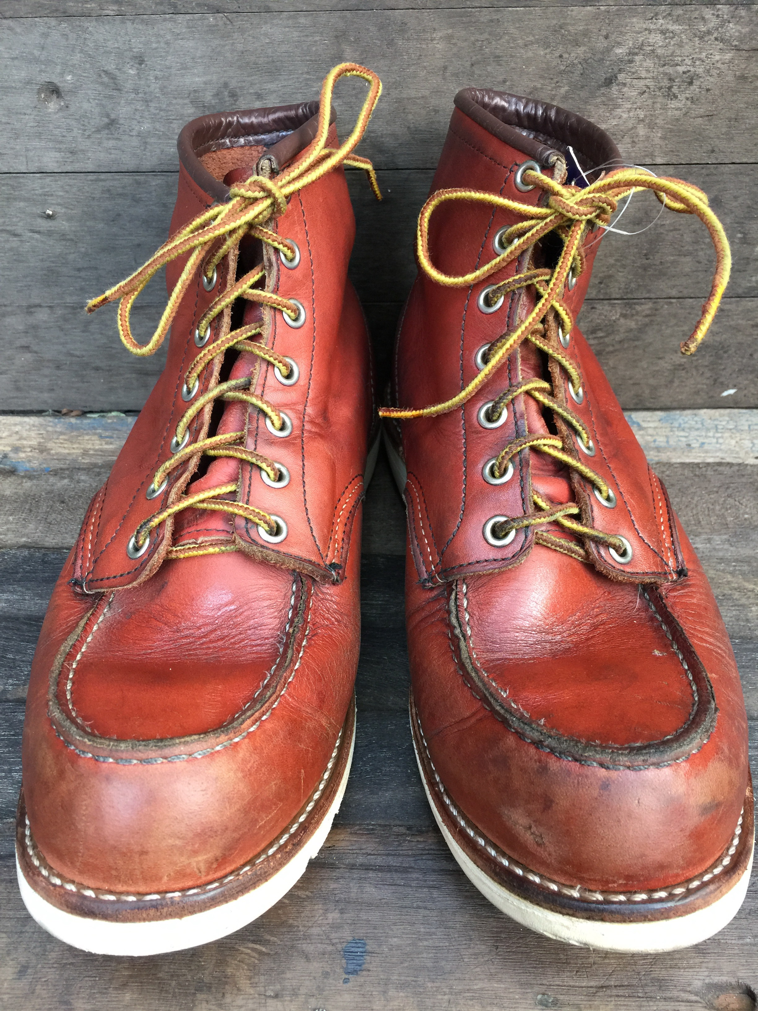Red wing 8131 size 9E