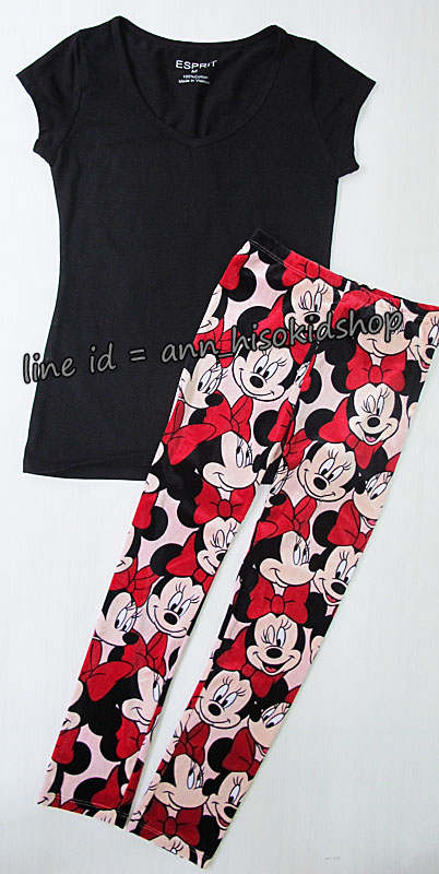 SP024 Espirit T-Shirt + H&M Minnie Legging