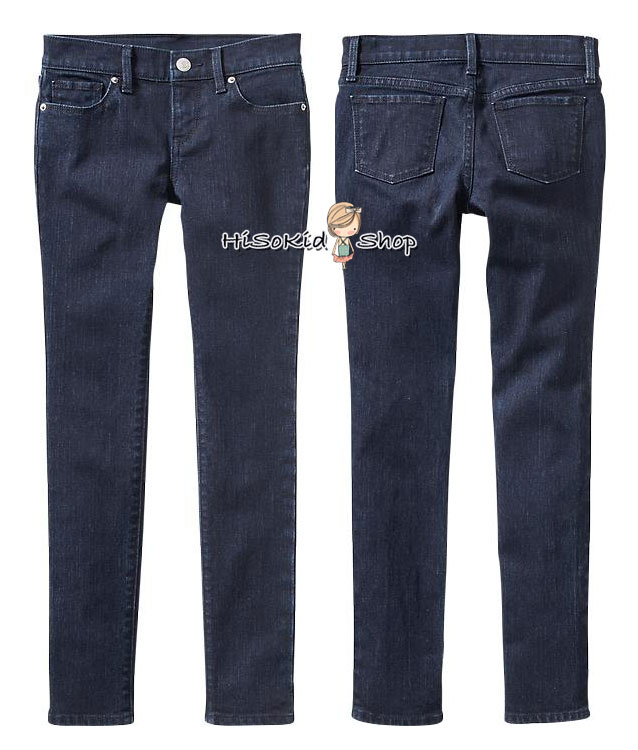 1198 Old Navy Rinse Super Skinny Jeans for Girls ขนาด 12,14,16 ปี