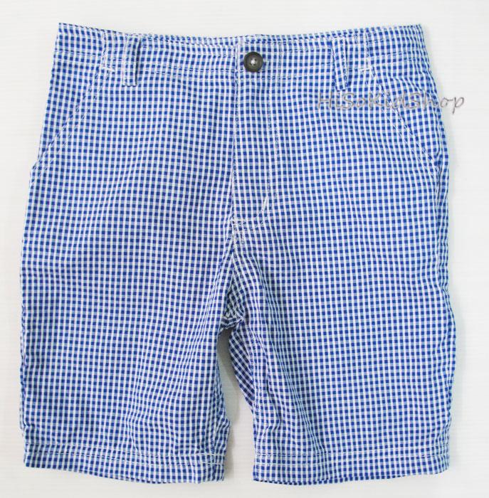 1691 Carter short - Blue กางเกงขาสั้น ขนาด 6 ปี
