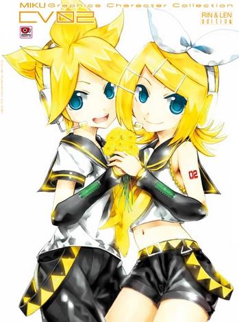 MIKU Graphics Character Collection CV02: Rin&Len Edition