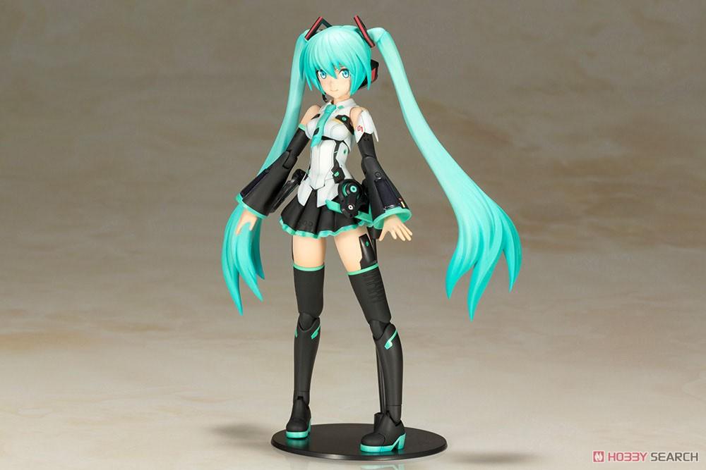 เปิดรับPreorder มีค่ามัดจำ 400 บาท Frame Music Girl Hatsune Miku (Plastic model) 5800 yen