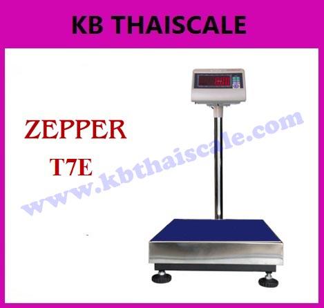 ตาชั่งดิจิตอล เครื่องชั่งดิจิตอล เครื่องชั่งวางพื้น 60kg ความละเอียด5g T7E-PB4050-60 แท่น 40x50cm (ผ่านการตรวจรับรอง)