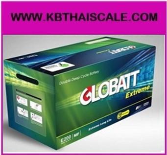 GLOBATT EXTREME PLUS แบตเตอรี่สำหรับเก็บพลังงานแสงอาทิตย์ ชนิด Deep Cycle Extreme จ่ายกระแสไฟ (CCA) GLOBATT EXTREME PLUS E1100 100AH