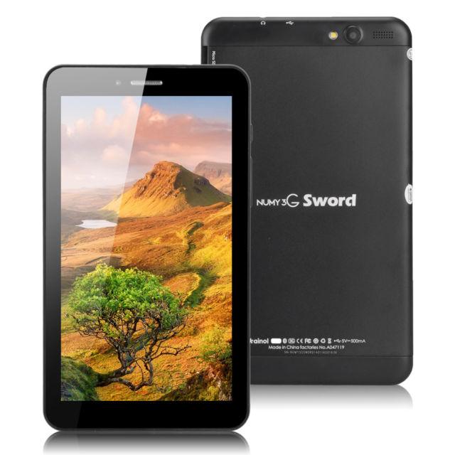 แท็บเล็ต Ainol Numy 3G Sword สีดำTablat pc Quad Core MTK 8382 โทรได้