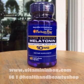 Puritan's Pride Melatonin 10 mg Capsules