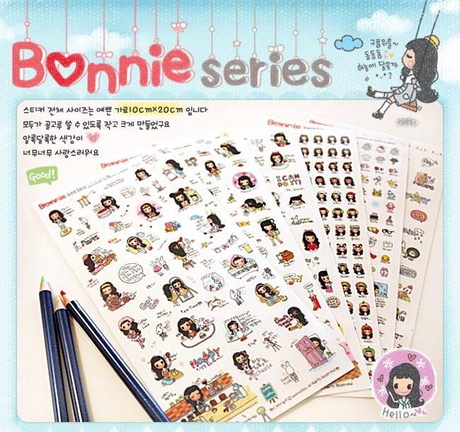 Bonnie Series Sticker