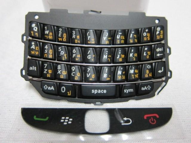 แป้นพิมพ์ Blackberry 9800