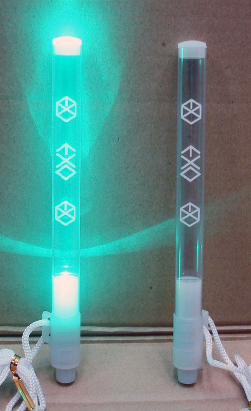 [พร้อมส่ง 1 ชิ้น]Lightstick/แท่งไฟ EXO (กลมธรรมดา) ไฟสีขาว