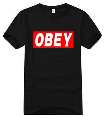 เสื้อยืดแฟชั่น SNSD OBEY 2014 (สีดำ)