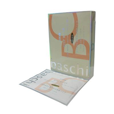 มารค์หน้าบาชิ (Baschi Mask) กล่องสีส้ม สูตรหน้าเด้ง เพิ่มขาวใส เรียบเนียน ใบหน้ามีน้ำมีนวล ผ่องใสขึ้น รู้สึกได้ตั้งแต่ครั้งแรกที่ใช้