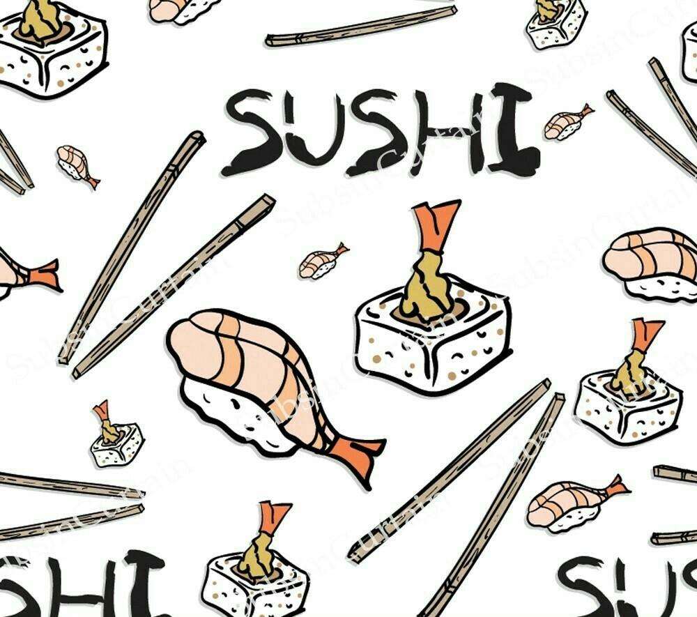 วอลเปเปอร์ลายร้านอาหารญี่ปุ่น #8