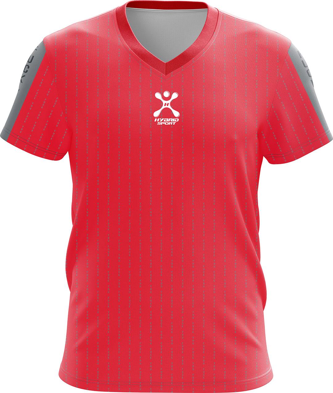 เสื้อ Hybrid Sport รุ่น'' NEW Fxxk You''Limited Edition สีแดง / Red