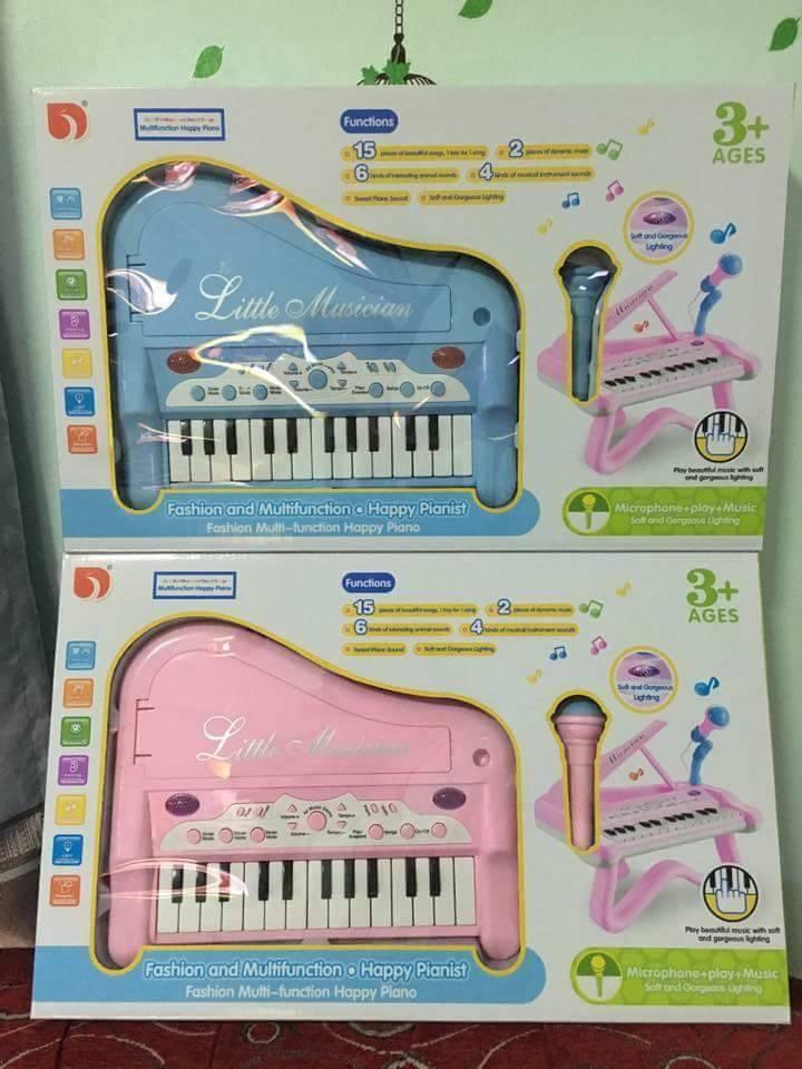 โต๊ะเปียโน พร้อมไมค์ สำหรับเด็ก