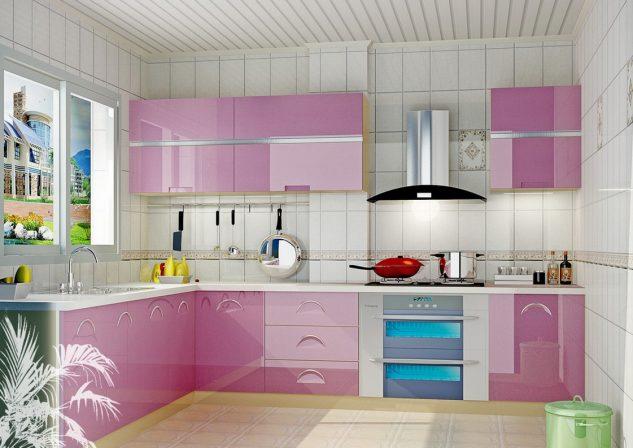 ห้องครัวสีชมพู 2