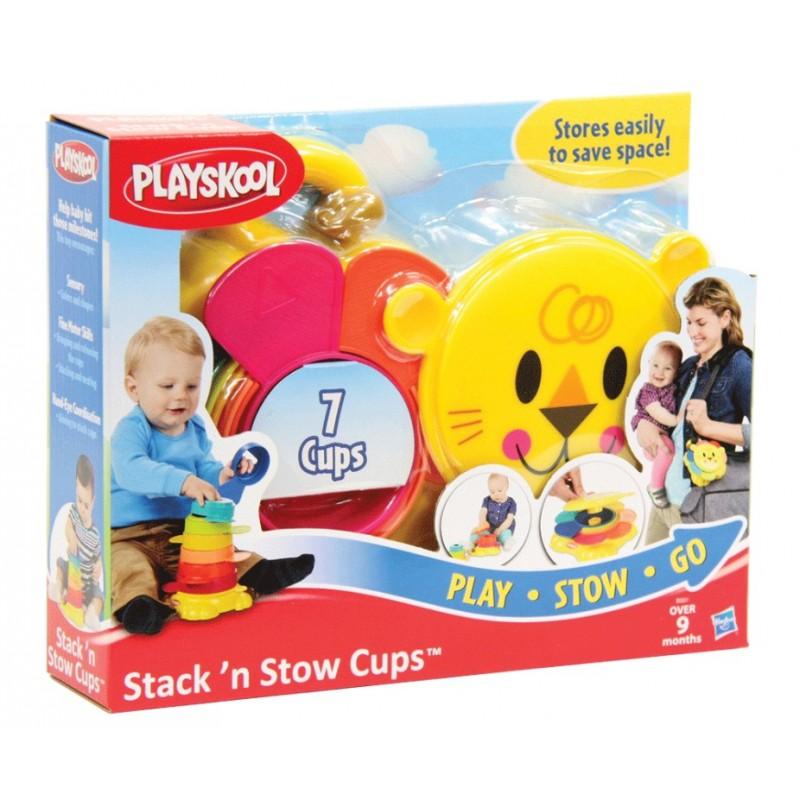 พร้อมส่งส่งฟรี Playskool Stack 'n Stow Cups