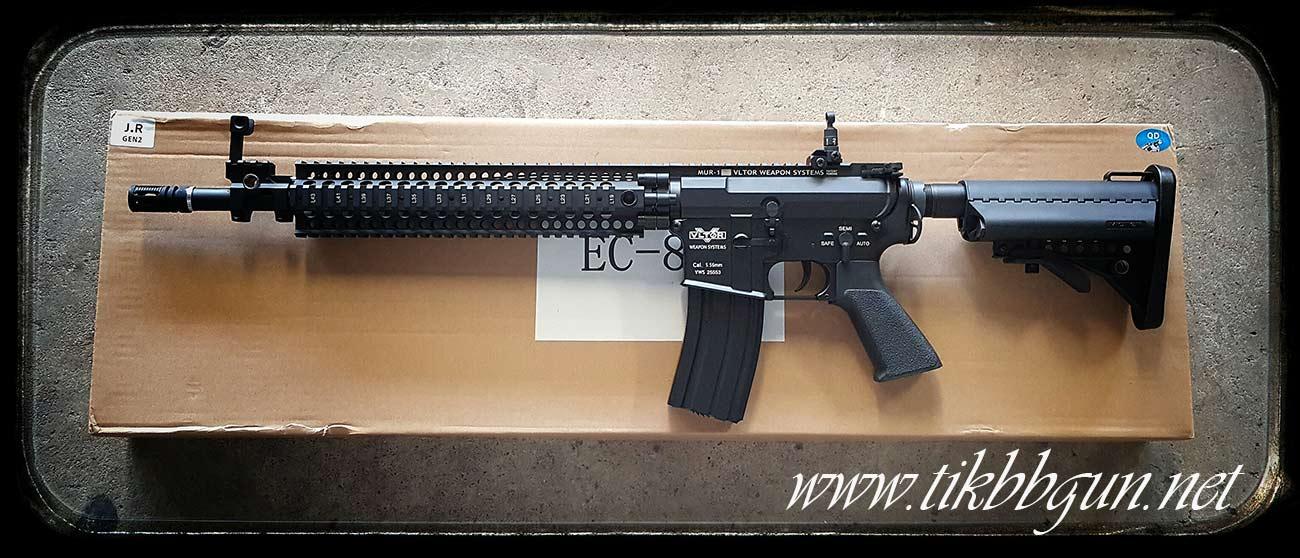 ปืนอัดลมไฟฟ้า M4 จาก E & C รุ่น 809S