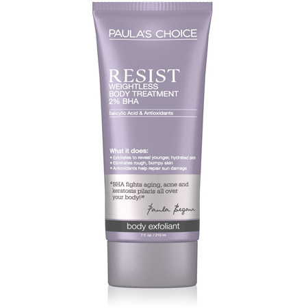 RESIST Weightless Body Treatment with 2% BHA 210ml