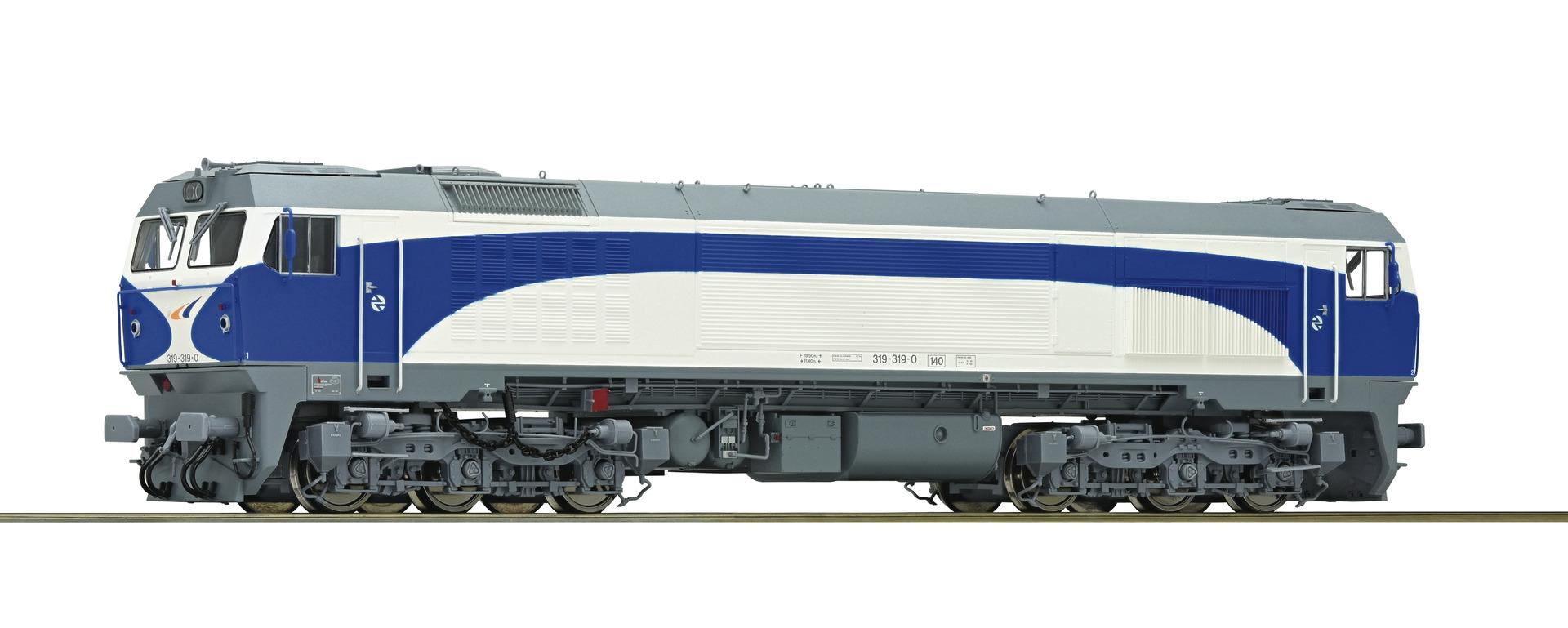 Roco73693 Diesel serie319 RENFE, dcc sound