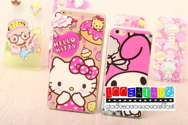 เคสมือถือไอโฟน case iphone 6 Plus เคสใสบางการ์ตูนน่ารักๆ
