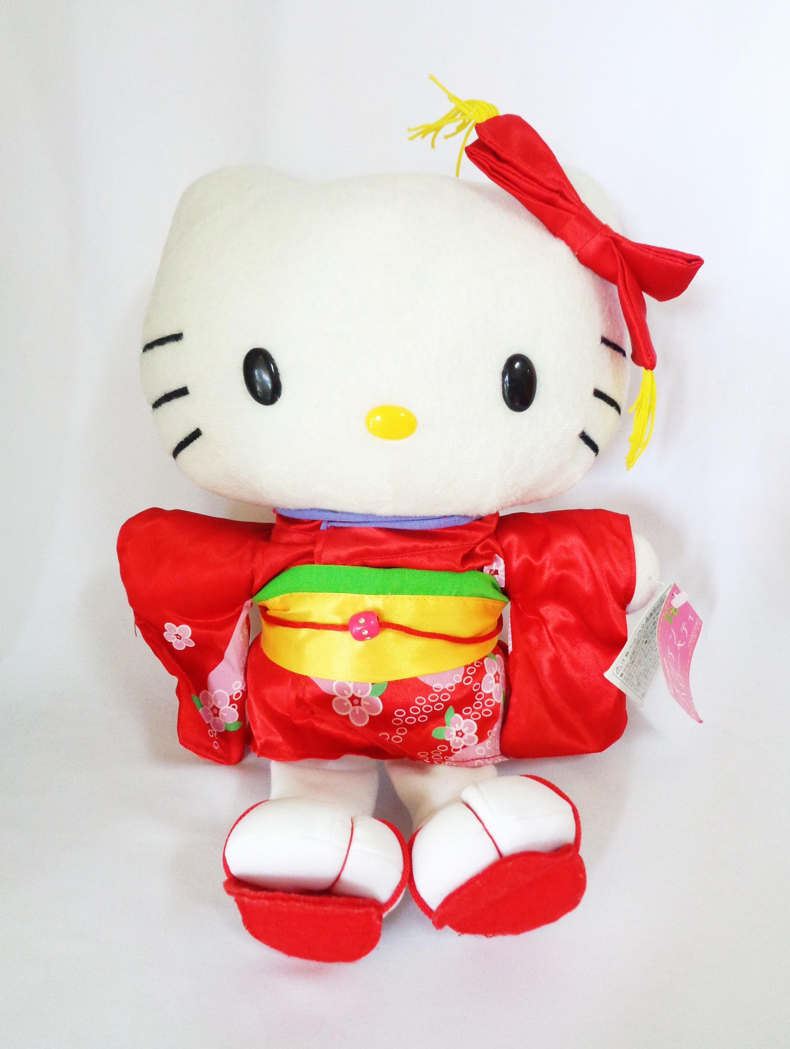 ตุ๊กตา Hello Kitty ชุดกิโมโน ของ Sanrio
