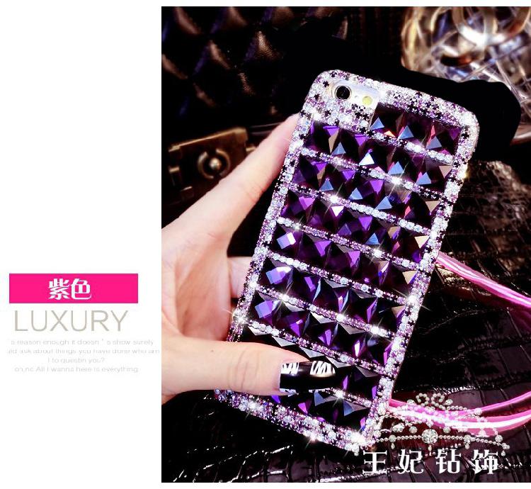 (497-011)เคสมือถือ Case OPPO R9s Plus/R9s Pro เคสพลาสติกใสพื้นหลังประดับเพชรไล่โทนสี