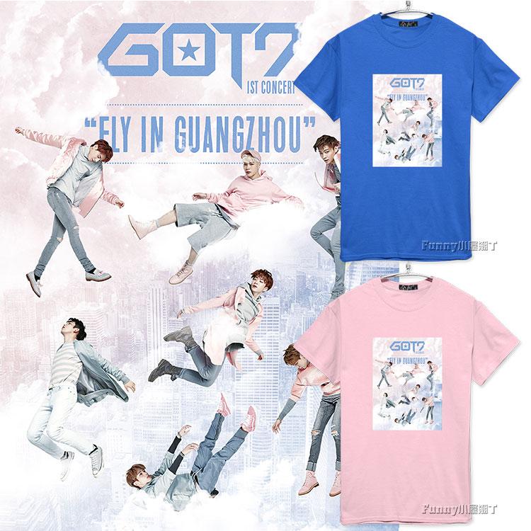 เสื้อยืด GOT7 FLY ALL MEMBER -ระบุสี/ไซต์-